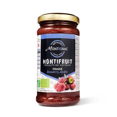 Michel Montignac - Montifruit bio aux fraises - Montignac