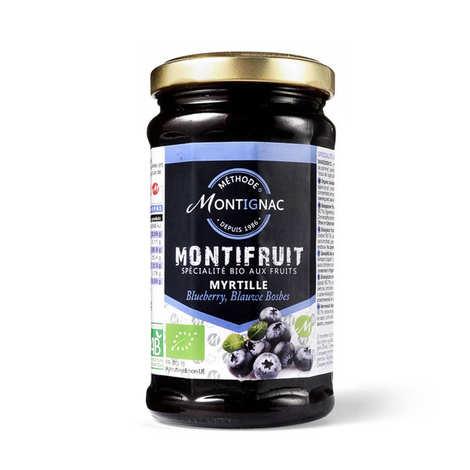 Michel Montignac - Montifruit bio aux myrtilles - Montignac