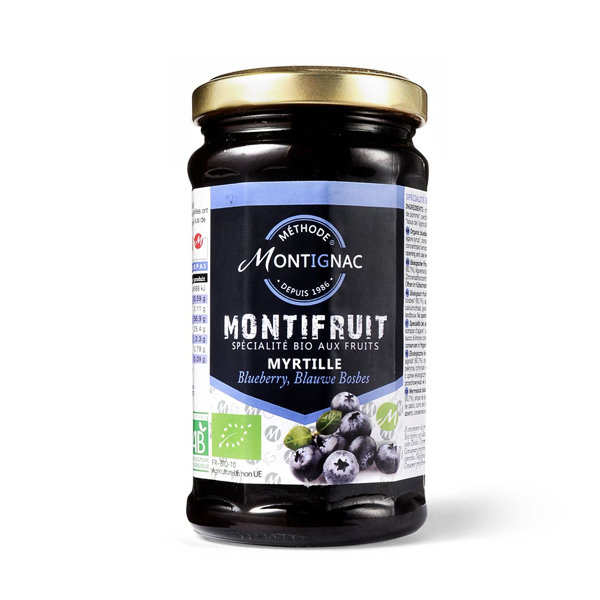 Montifruit bio aux myrtilles - Montignac