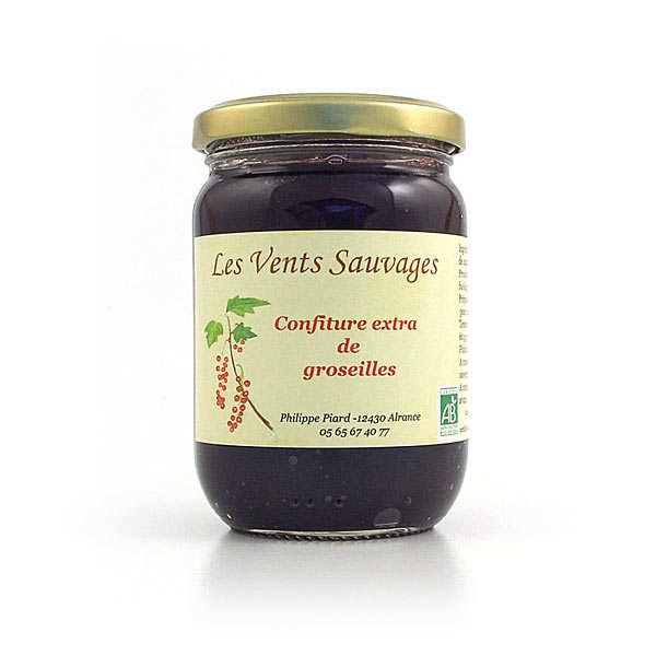 Organic gooseberry jam