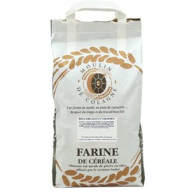 Farine de meule bio - céréales et graines