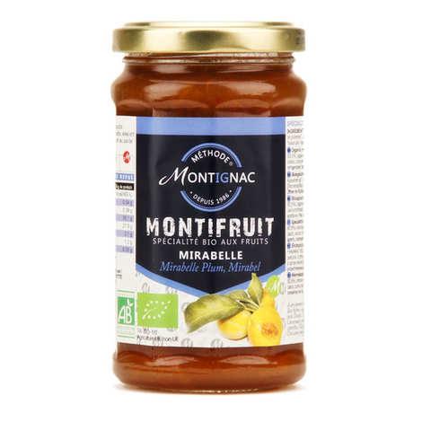Michel Montignac - Montifruit bio aux mirabelles - Montignac
