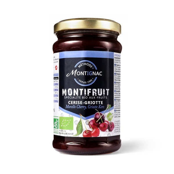 Montifruit bio aux 4 fruits rouges - Montignac