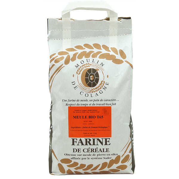 Organic T 65 wheat flour