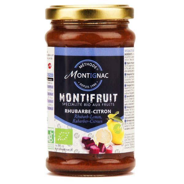 Montifruit bio à la rhubarbe zeste de citron - Montignac