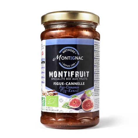 Michel Montignac - Specialty bio fig and cinnamon - Montignac
