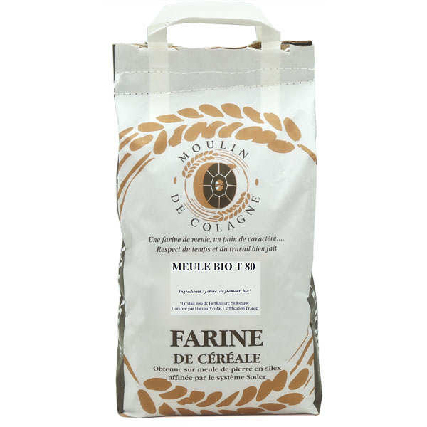 Organic T 80 wheat flour