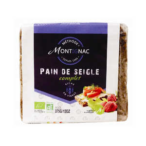 Michel Montignac - Pain de seigle bio - Montignac