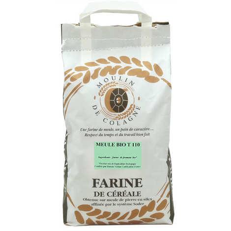 Moulin de Colagne - Farine de blé complète à la meule T110 bio