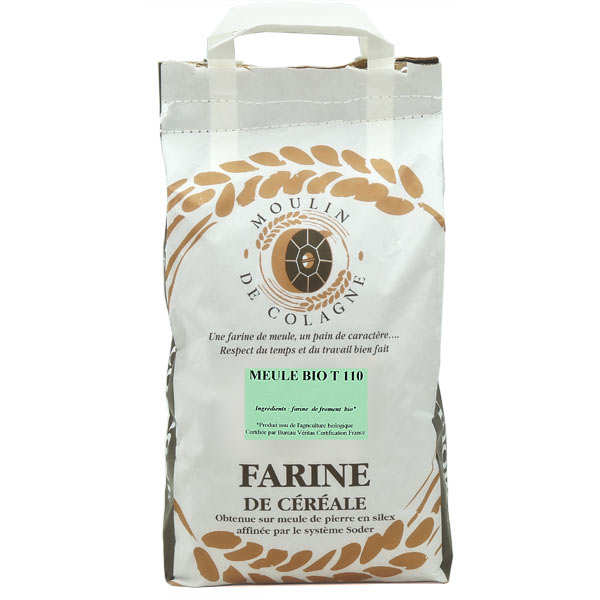 Organic T 110 wheat flour - Languedoc