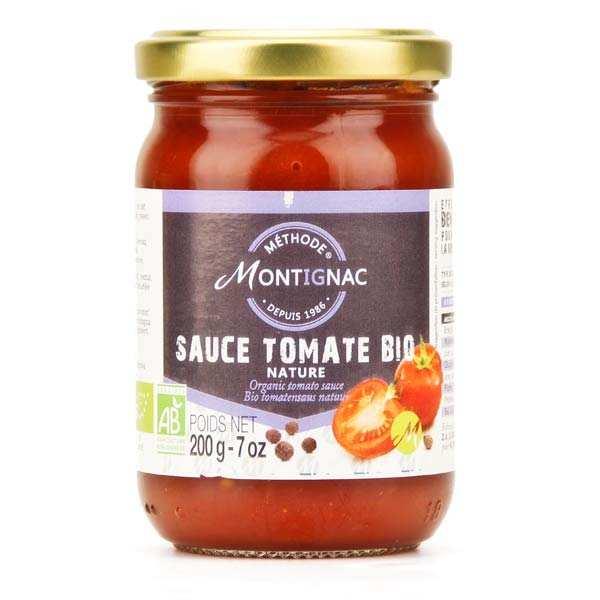 Sauce tomate nature bio - Montignac