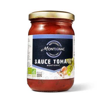 Michel Montignac - Sauce tomate ail et basilic bio - Montignac