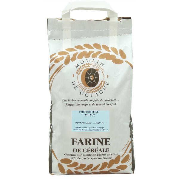 Organic T 130 rye flour