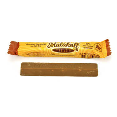 Milk chocolate bar - Malakoff