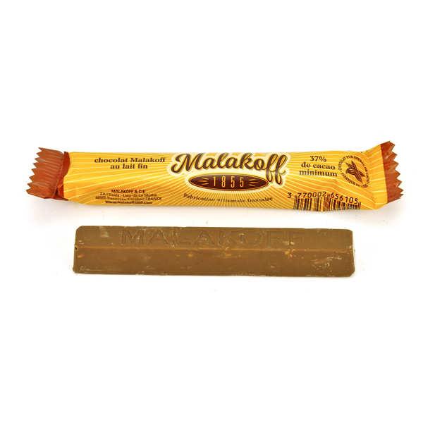 Barre chocolat au lait - Malakoff
