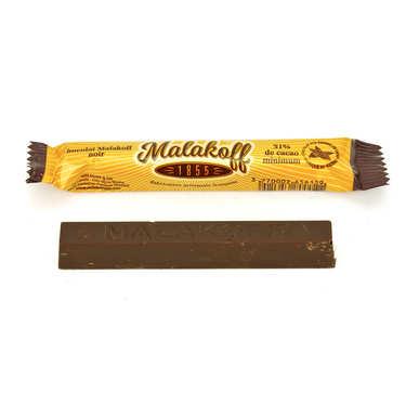 Barre chocolat noir - Malakoff