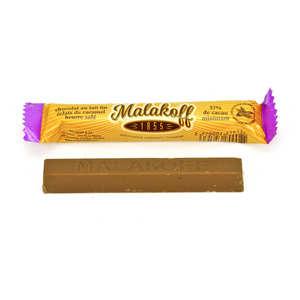 Malakoff Company - Barre chocolat lait et caramel au beurre salé - Malakoff