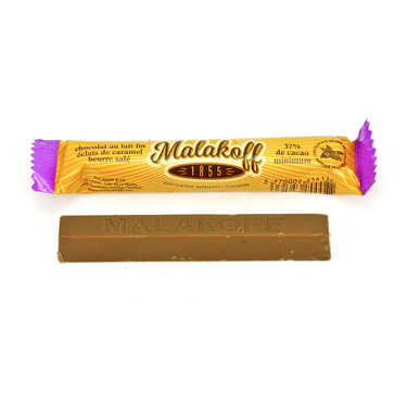 Milk chocolate caramel bar Gabin - Malakoff