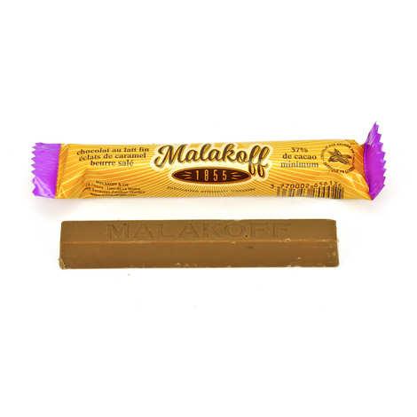 Malakoff & Cie - Malakoff 1855 Milk chocolate caramel bar