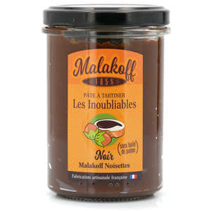 Malakoff Company - Spread dark chocolate and hazelnut - Malakoff