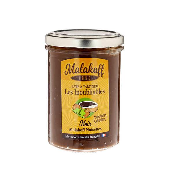 Pâte à tartiner chocolat noir et noisette - Malakoff