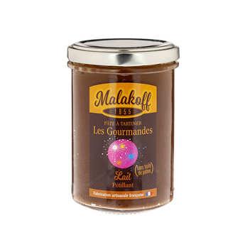 """Malakoff Company - Pâte à tartiner chocolat au lait """"pétillante"""" - Malakoff"""