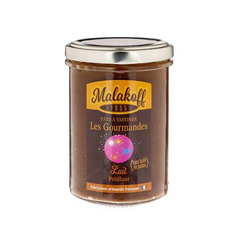 "Malakoff & Cie - Pâte à tartiner chocolat au lait ""pétillante"" - Malakoff 1855"