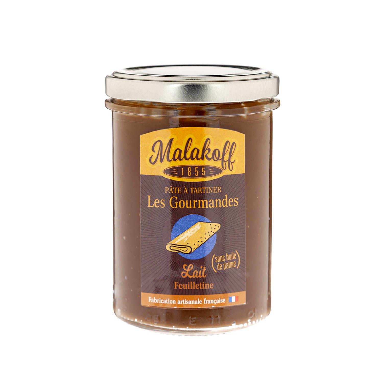 "Spread Milk Chocolate ""feuilletine"" - Malakoff"
