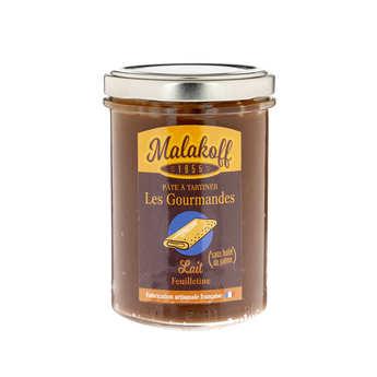 Malakoff Company - Pâte à tartiner chocolat au lait feuilletine - Malakoff