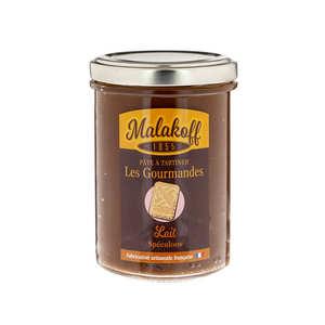 Malakoff Company - Pâte à tartiner chocolat au lait et speculoos - Malakoff