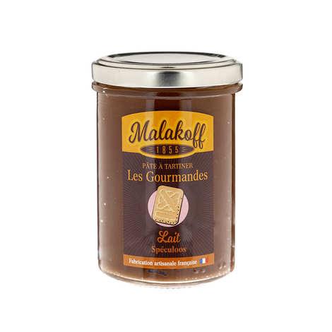 Malakoff Company - Pâte à tartiner chocolat au lait et speculoos - Malakoff 1855