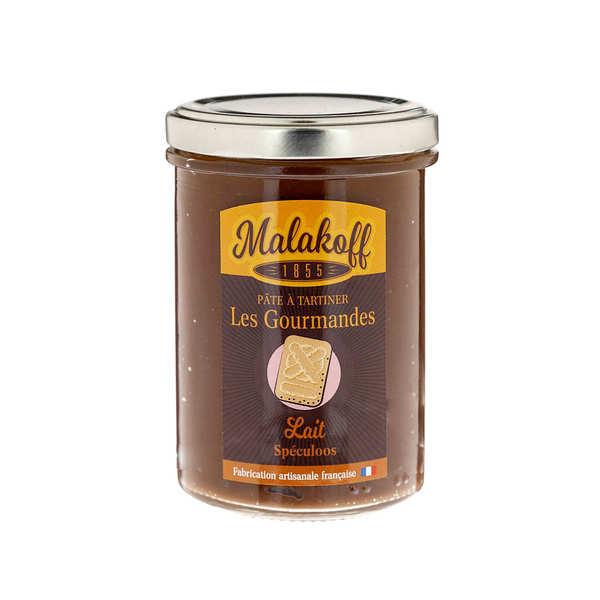 Pâte à tartiner chocolat au lait et speculoos - Malakoff