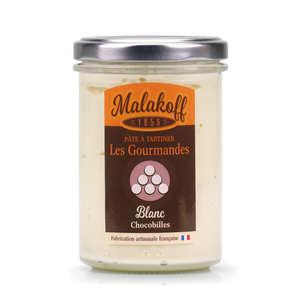 """Malakoff Company - Pâte à tartiner chocolat blanc """"crunchy"""" - Malakoff"""