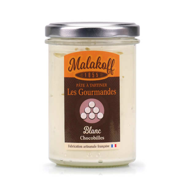 "Spread white chocolate ""chocobille"" - Malakoff"