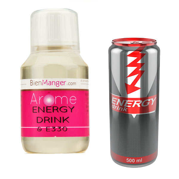 Arôme alimentaire R.B 'energy drink'