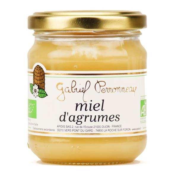 Miel d'agrumes bio