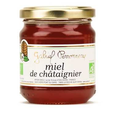 Organic Chestnut Honey