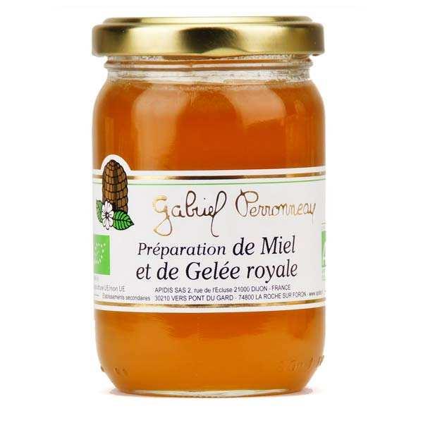 Organic Mix of Liquid Honey and Royal Jelly