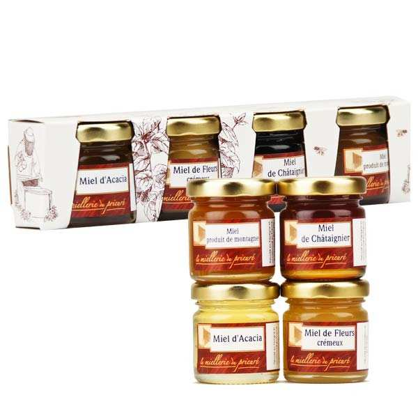 Set of 4 Honey