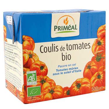 Organic tomato coulis