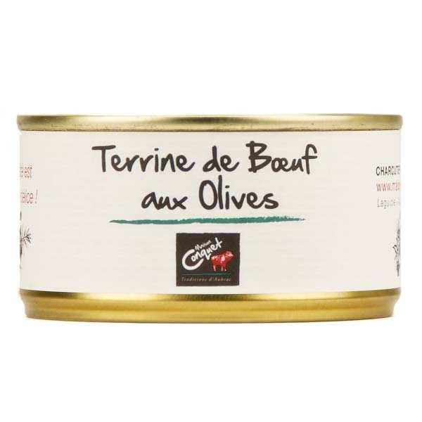 Terrine de boeuf aux olives - Maison Conquet