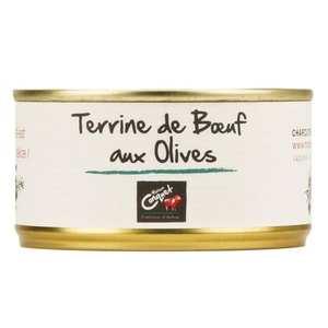 Maison Conquet - Terrine de boeuf aux olives - Maison Conquet