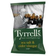 Tyrrells - Chips de pommes de terre au vinaigre de cidre et au sel de mer