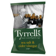 Tyrrells - Potato crisps with cider vinegar and sea salt