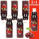 Elite Naturel - Pure organic cherry juice 5+1 free
