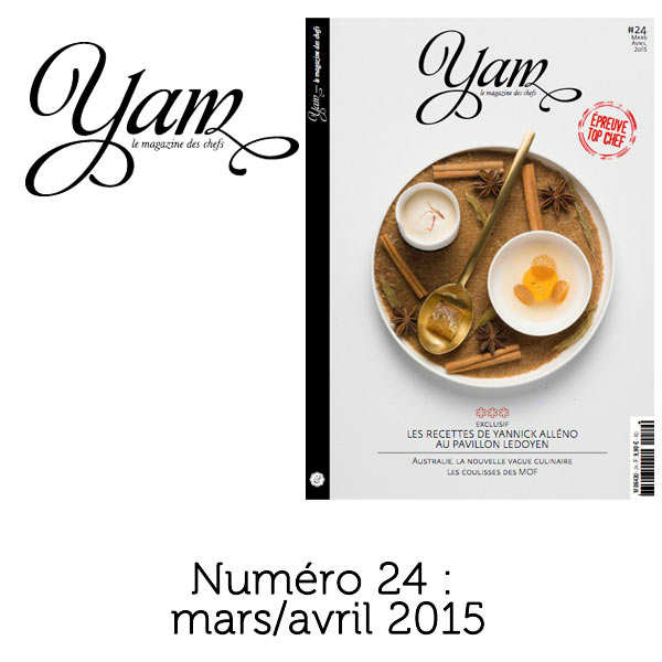 French magazine about cuisine - YAM n°24