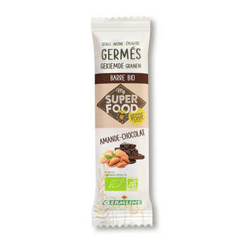 Germline - Organic Prouted Cereals Bar almond and chocolate