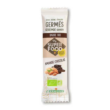 Germline - Barre de céréales germées bio amande et chocolat