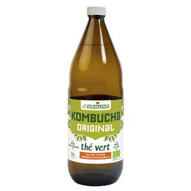Kombucha, boisson lactofermentée bio