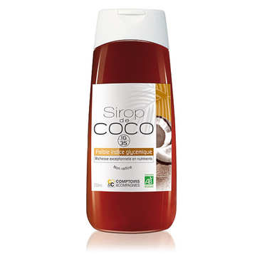 Organic and Liquid Coconut Syrup